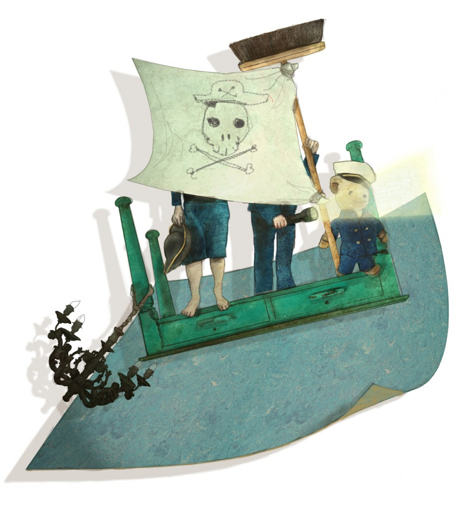 Stormenderland - Op de linoleumzee