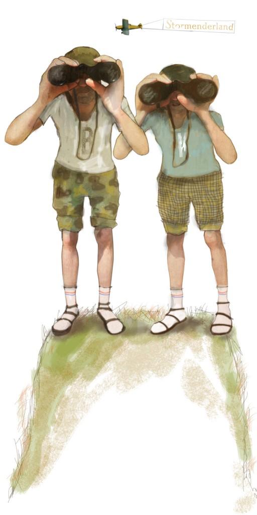 Stormenderland - Ben en Ken de Kijker 1