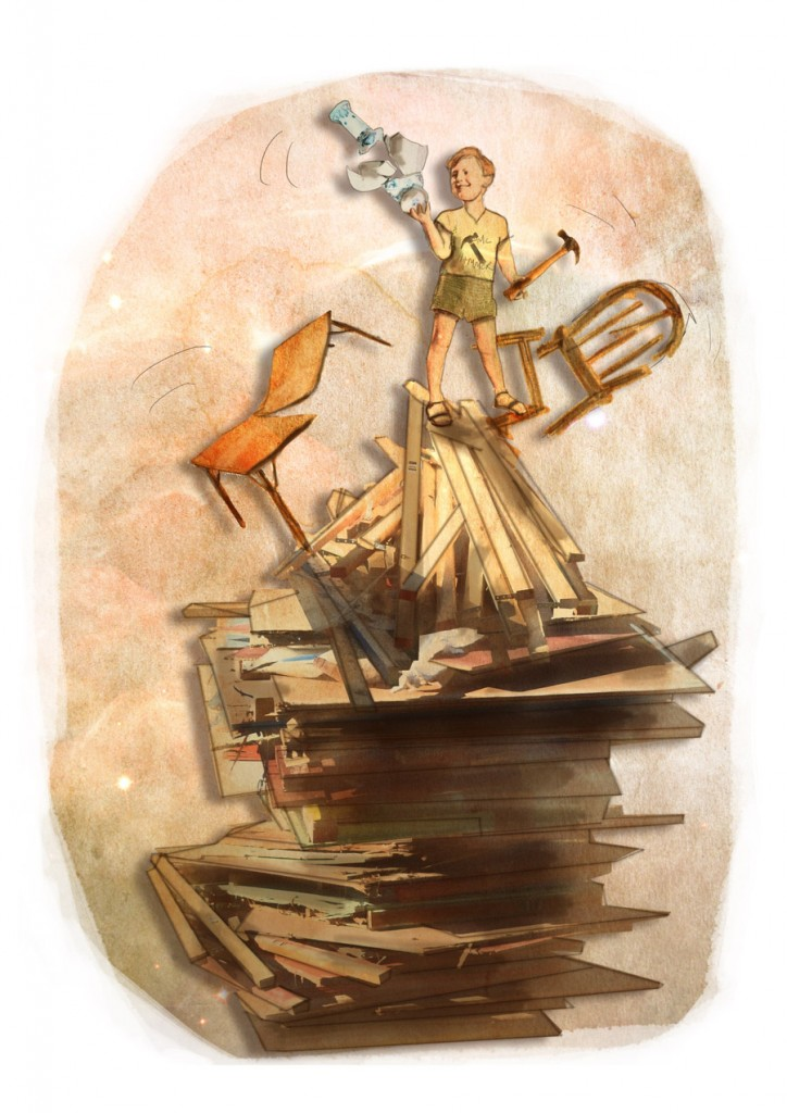 Stormenderland - Anton met zijn hamer