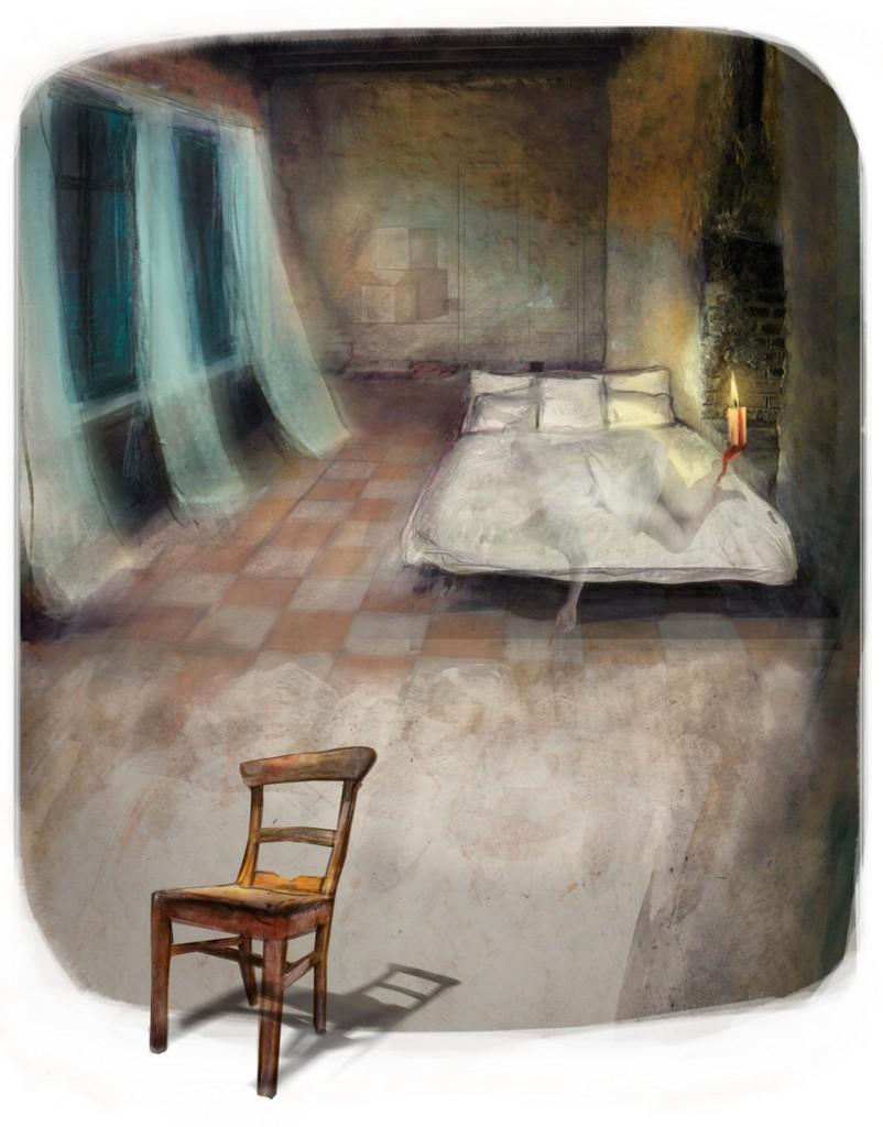 Stormenderland - Het bed