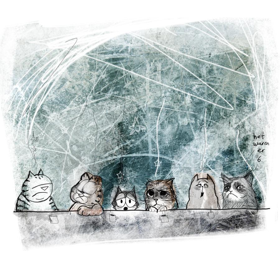 Stormenderland - De hondjes tegen de poezen