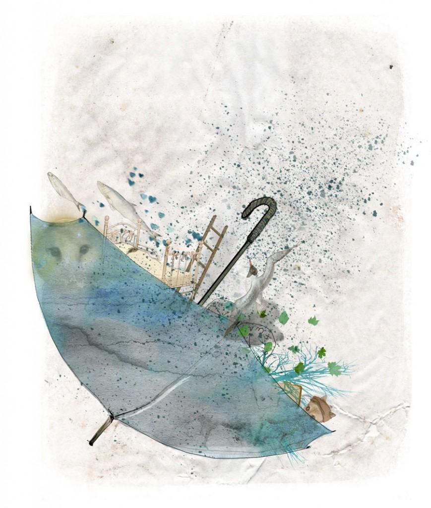 Stormenderland - Paraplu op drift
